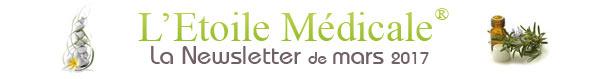 La Newsletter de l'Etoile Médicale - mars 2017
